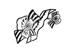 雪生兰装饰画图片