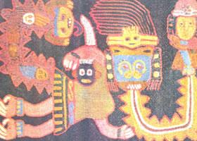墨西哥《民间织物》装饰画