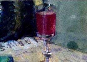 玻璃水彩画的表现方法