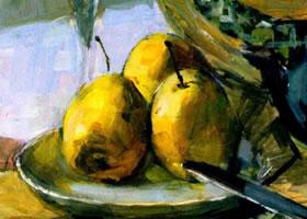 水果水彩画的表现方法