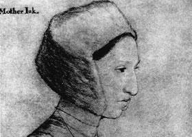 荷尔拜因《玛格丽特•格里格斯肖像》经典素描