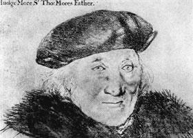 荷尔拜因《约翰•摩尔肖像》经典素描欣赏