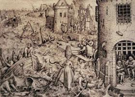 彼得•勃鲁盖尔《希望》素描作品欣赏