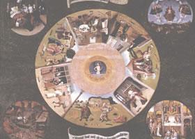 希罗尼穆斯•傅斯《七宗罪》油画欣赏