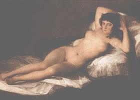 戈雅《裸体的玛哈》油画欣赏