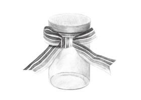 许愿瓶素描(二)