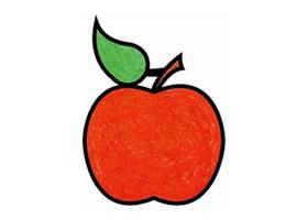 苹果简笔画