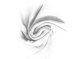 布纹铅笔素描