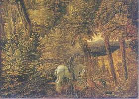阿尔特多费尔《圣•乔治》油画赏析