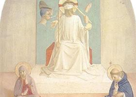 弗拉•安杰利科《修道的耶稣》壁画赏析