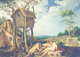 亚伯拉罕•布洛马厄特《小麦与莠草之寓言》油画赏析
