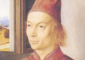 迪尔克•鲍茨《一个男人的肖像》油画赏析