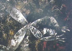 阿瑟•博伊德《裸体变形为蜻蜓》蛋彩油画赏析