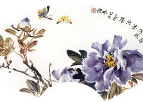 小写意花鸟画《紫牡丹》创作技法