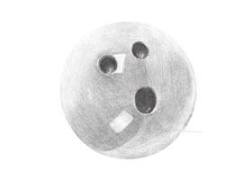 保龄球铅笔素描