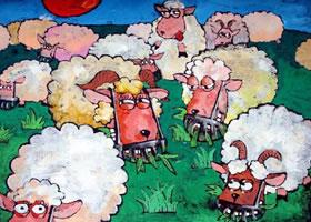 《山羊吃草器》科幻画欣赏