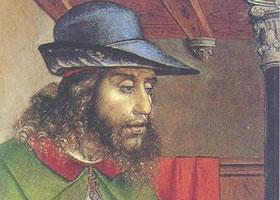 约斯•范•让特《梭伦肖像画》油画赏析