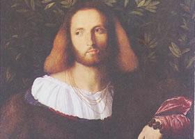 帕尔马•韦基奥《一位诗人的肖像》油画赏析