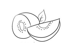 猕猴桃简笔画