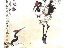 《鹤寿天香》画法步骤解析