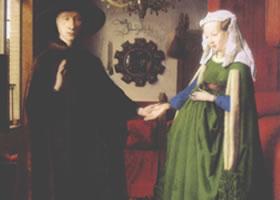 扬•凡•爱克《乔凡尼•阿尔诺菲尼和他的新娘》名画赏析