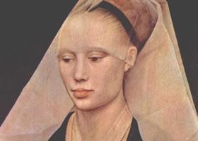 罗吉尔•凡•德尔•威登《妇女肖像》名画赏析