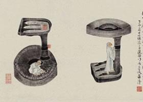 中国《剔灯图》古画赏析