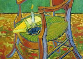 梵高《高更的扶手椅》布面油画欣赏