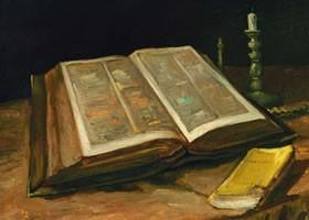 梵高《圣经》布面油画欣赏