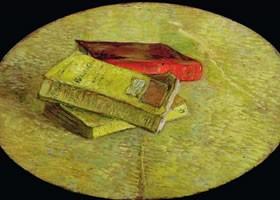 梵高《三本小说》油画欣赏
