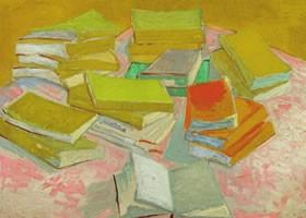 梵高《书及静物》油画欣赏