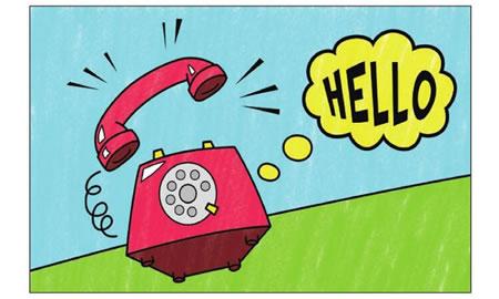 座机电话简笔画涂色步骤图示04